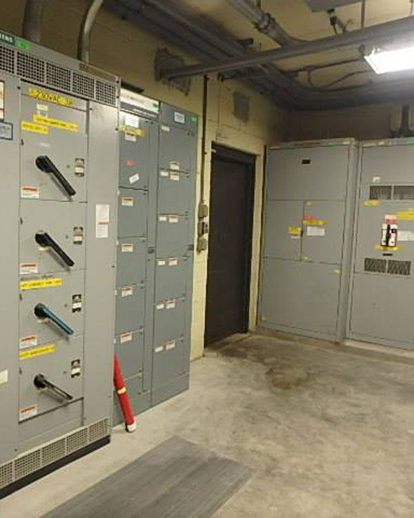 Commercial electrical room